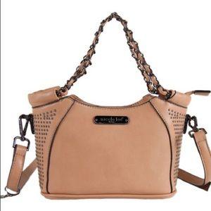 Handbags - Cute tan Nicole Lee mini bag